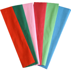 crepe paper High quality premium paper resists tears and absorbs moisture crepe rolls have a soft linen-like texture 12 rolls per case.